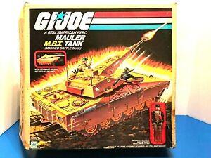 Vintage 1985 Hasbro GI JOE ARAH MAULER MBT TANK HEAVY METAL BOX Complete Works