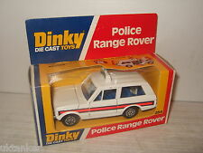 Vintage rare dinky toys 254 Range Rover pour la police & original dinky box.