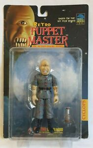 Retro CYCLOPS Blood Splatter - PUPPET MASTER  Full Moon Toys 1999 MOC
