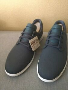Skechers Shoes Men Memory Foam Status 2.0 Burbank 204083 Charcoal size 12