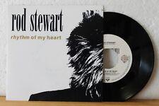 """7"""" - ROD STEWART - Rhythm Of My Heart - Moment Of Glory - Vinyl ist ungespielt!"""