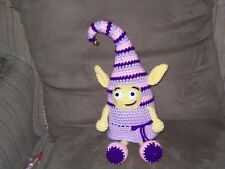Crochet unique 10 1/2 in Fairy Elf stuffed animal toy doll made to order