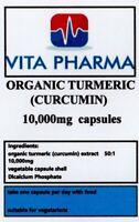 HIGH STRENGTH TURMERIC 10,000mg 30 capules ANTI INFLAMMATORY ANTIBACTERIAL