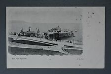 R&L Postcard: Hoe Pier Plymouth, JW&S J Welch, Early Card Undivided Back