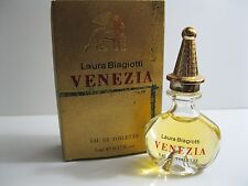 Laura Biagiotti Venezia 1st Edition Vintage Formula EDT Miniature in Box!
