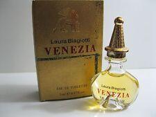 Laura Biagiotti Venezia 1st Edition Vintage Formula EDT Miniature in Box!
