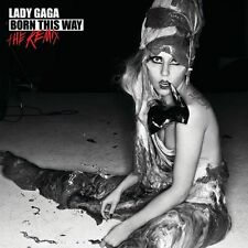 Lady Gaga  -  Born This Way - The Remix    New cd  in seal