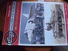 $$ Revue Airflix magazine September 1978 Aldershot  Duxford  Wildenrath  Hs 126