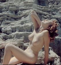 Vintage Realist Stereo slide Vangie Johns Evangelina Nude 3D Pin-up