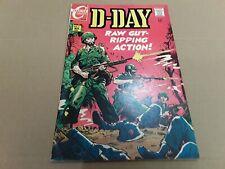 Vintage D - Day War Comic Book. Vol. 4 No. 6 Nov. 1968. FN Condition. WW 2