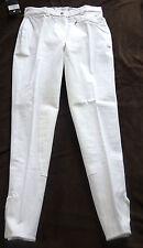 Catago Damen Reithose, Vollbesatz,weiß, Gr.80, mit Stretch-Beinabschluss,(223)