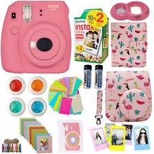 Fujifilm Instax Mini 9 Instant Camera Pink + 20 Film + Deluxe Full Bundle