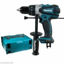 Makita DHP458Z 18V LXT Li-ion 2 Speed Combi Hammer Drill Body with Makpac Case