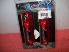 G.SKILL Ripjaws X 16GB (2x8GB) DDR3 1600 PC3-12800 SDRAM F3-12800CL10D-16GBXL