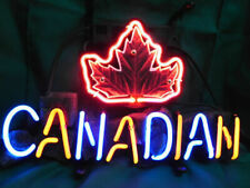 """New Canadian Molson Beer Neon Sign 20""""x16"""" Real Glass Lamp Lighting Decor"""