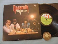 LP NAZARETH Play'n' the Game 1976 UK Mountain | EX