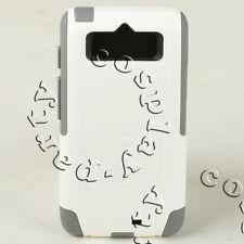 OtterBox Commuter 2-Layer Hard Motorola Moto Droid Mini Case Cover White Gray