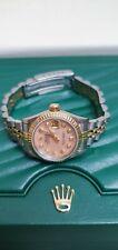 Rolex Datejust 69173 26mm MOP Diamond Set Dial 18ct/SS Ladies Watch