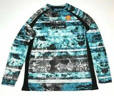 Mens Pelagic VaporTek Long Sleeve Performance UV Fishing Shirt Blue XL NWT $55
