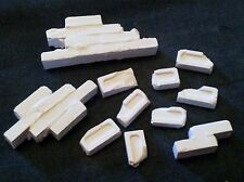 120mm Brick rubble scatter broken bricks, Ideal for many eras 1/16th scale