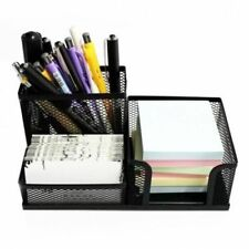 Pen Pencils Mesh Holder Stationery Container Desk Tidy Organiser Office School