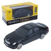 1:64 Mercedes-Benz E63 AMG Black Color Die Cast Metal Car Model RMZ City NEW