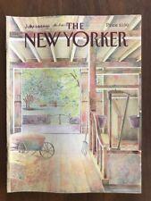 1986 July 14 The New Yorker Magazine Barn Farm Oliver