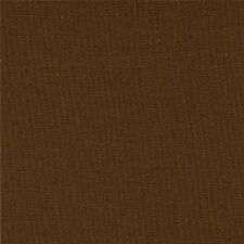 Moda BELLA SOLIDS Fabric by the 1/2 half yard -- 9900 71 U Brown