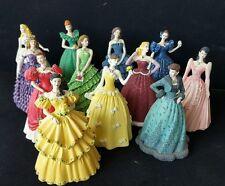 Franklin Mint FM Set Rare 12 Month Doll Statue BirthColor Porcelain Figurine 90