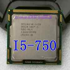 Free shipping Intel Core i5-750 Quad-Core SLBLC 2.66GHz 8M Socket LGA1156 CPU