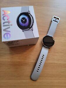 Samsung Galaxy Watch Active 40mm - Light Grey (SM-R500NZSABTU) NIB