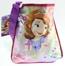 DISNEY SOFIA THE FIRST PRINCESS GIRL SCHOOL TRAVEL SHOULDER HAND BAG PINK PURPLE