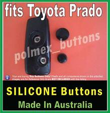 fits Toyota Prado remote key - Replacement Silicone key BUTTONS
