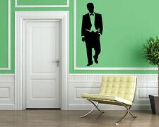 Man in Smoking Suit Wall MURAL Vinyl Art Sticker M048