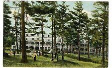 Cairo NY - ROCKWOOD HOTEL IN THE PINES - Postcard Catskills