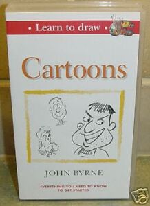 VIDEO - Learn to Draw Cartoons by John Byrne