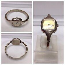 schöne Armbanduhr 925er Silber Quinn Scheurle Silberarmbanduhr Handaufzug