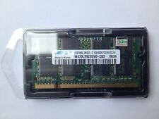 1GB RAM PC2700 333MHz SODIMM DDR 200pin DDR1 SAMSUNG M470L2923DV0 CB3 LAPTOP