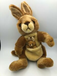 Official Korimco Kingdom Kangaroo Joey Hand Puppet Plush Stuffed Toy Animal