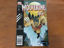 The Wolverine Saga Book One: Beginnings Wolverine (1988) #119 VF Liefeld Cover
