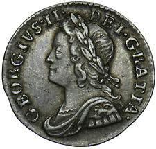 More details for 1753 maundy penny - george ii british silver coin - very nice