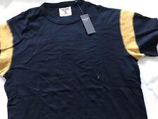Abercrombie & Fitch Azul Marino T-Shirt-Pequeño Para Hombre
