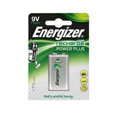 Energizer ACCU Power Plus NiMH Rechargeable 9V PP3 BLOCK 175mAh Capacity