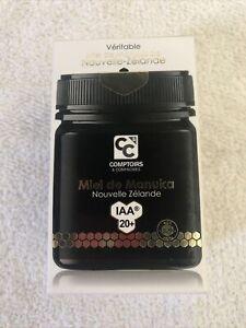 Comptoirs & Compagnies - Miel de Manuka IAA 20+ - 250 g - Certified