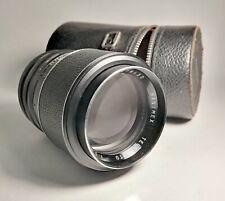 Hanimex Tele-Auto 135mm f/2.8 Prime 8-Blade Portrait Camera Lens - M42 Mount