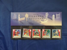 Royal Mail Presentation Pack Mint Stamps -GILBERT & SULLIVAN - THE MIKADO - 1992