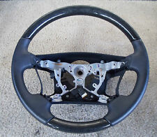 2007-2010 Lexus LS460, LS600HL Steering Wheel Assembly Black / Black Woodgrain
