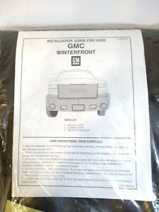 NEW GMC WINTERFRONT  # 25822807  winter Snow Grill Cover With GMC Logo