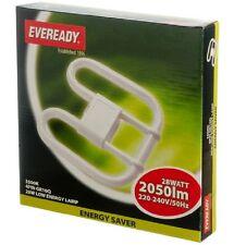 Eveready Luce Risparmio Energetico Lampadina 4 PIN 240v CFL 2d 28w WATT