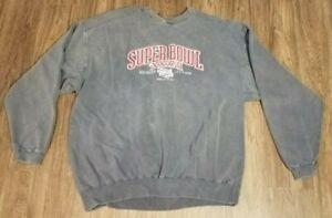 2002 Super Bowl XXXVI New Orleans Louisiana Sweatshirt- New England Patriots